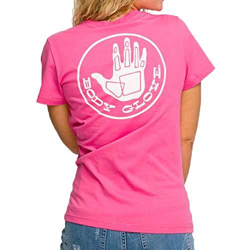 Body Glove S/S OG Logo tee Camiseta Manga Larga, Mujer, Coral, S