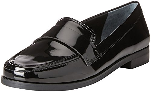 Price comparison product image Franco Sarto Women's Valera Penny Loafer,  Black,  8 M US