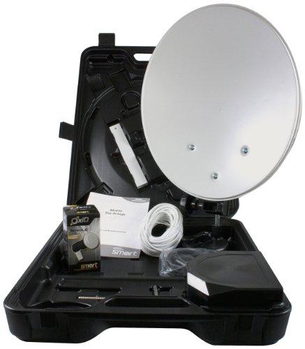 Smart CAMP LC - Antena parabólica para camping, negro [importado]