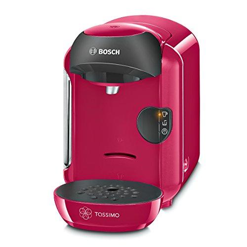 Bosch TAS1251 Tassimo Vivy Kapselmaschine, über 70 Getränke, vollautomatisch, geeignet für alle Tassen, kompakte Größe, 1300 W, pink
