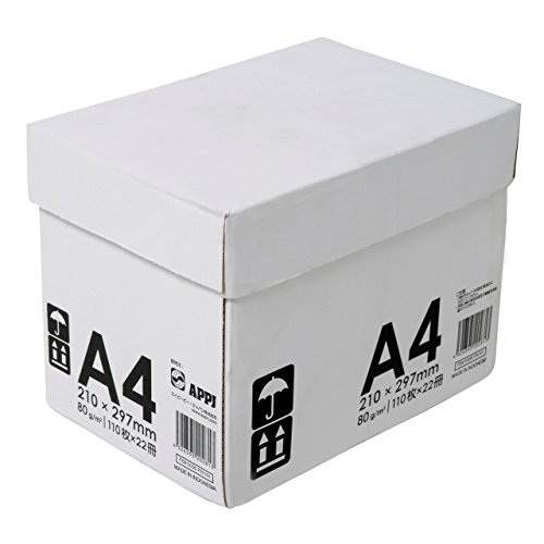 コピー用紙 A4 高品質マルチ用紙 白色度98% 紙厚0.106mm 2420枚(110×22) インクジェット用紙
