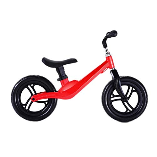 lightweight Tricycle Trike Children's Balance Bike, Ultra Light Children's Outdoor Slide Baby Double Wheel Without Pedal Bicycle Wheel Free Inflatable, 2-6 Years Old, 4 Colors
