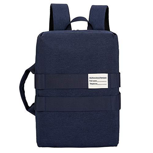 Twee drie gebruiksmogelijkheden rugzak, diagonaal, draagbaar, multifunctioneel, business, reizen, studententas, geschikt voor 15,6 inch laptop