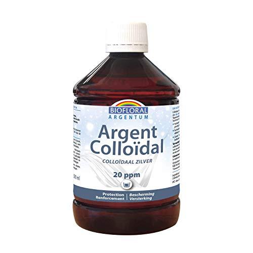 Biofloral | Argent Colloïdal 20 ppm | 500 ml