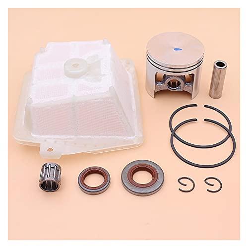 Ajuste perfecto Kit de sello de aceite de anillo de pistón de 47 mm para S-TIHL MS361 MS341 MS 361 341 CHUCHAW 1135 030 2000, 1135 120 1601, 9640 003 1600 Buena resistencia a la abrasión