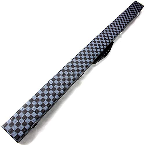 Taoke Biliardo Box 3/4 Custodia Grigia Lattice Inglese Snooker a Scacchi Deluxe Snooker Cue Duro di plastica End 8bayfa