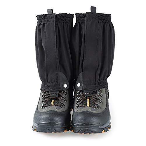 AQzxdc Polainas Impermeables, Cubiertas de Zapatos antidesgarros para Escalar al Aire Libre, Caminar, Correr, Polainas de Tobillo livianas