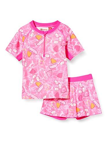 Lego Wear Lwtonja UV Set Lsf 50 Plus Ensemble de Bain, Rose (Pink 469), 98 Bébé Fille