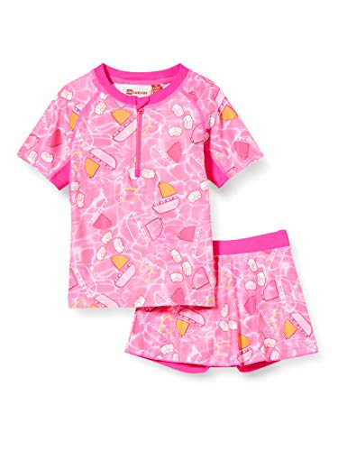 Lego Wear Lwtonja UV Set Lsf 50 Plus Ensemble de Bain, Rose (Pink 469), 104 Bébé Fille
