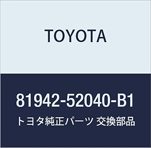 Buy Bargain Toyota 81942-52040-B1 Heater Control Name Sheet
