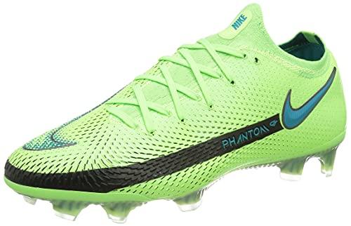 Nike Phantom GT Elite FG, Zapatillas de ftbol Unisex Adulto, Lima Glow Aquamarine Off Noir, 45 EU