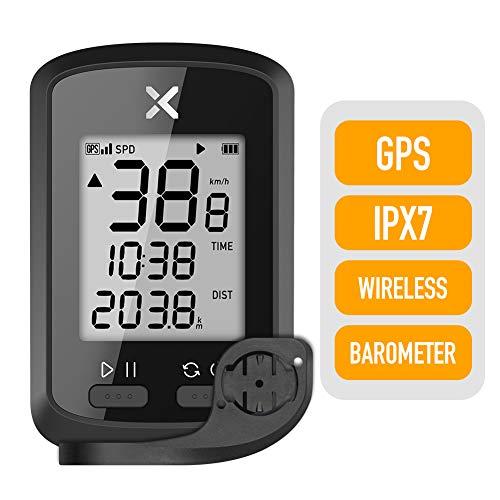 XOSS - G GPS, computer da ciclismo senza fili, tachimetro, contachilometri, tracker, impermeabile, bluetooth, per bici da strada o MTB, Combo2.