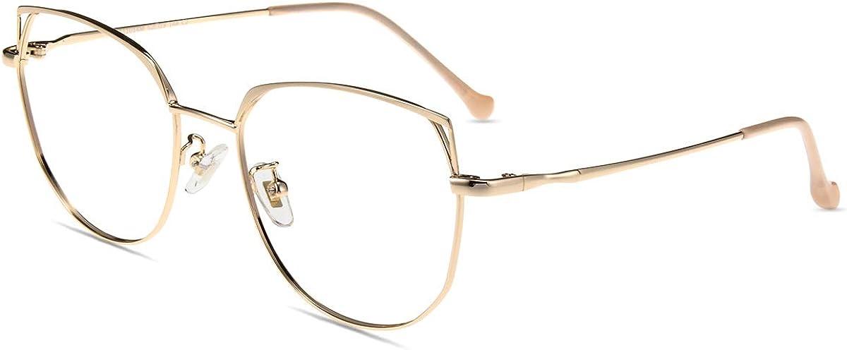 Firmoo Blue Light Blocking Glasses Women/Men, Anti Eyestrain Anti Glare, Light Weight Frame for Digital Screen