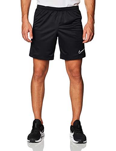Nike Dri-Fit Academy, Pantaloncini Sportivi Uomo, Nero Black/(White) 015), 44 (Taglia Produttore: Medium)