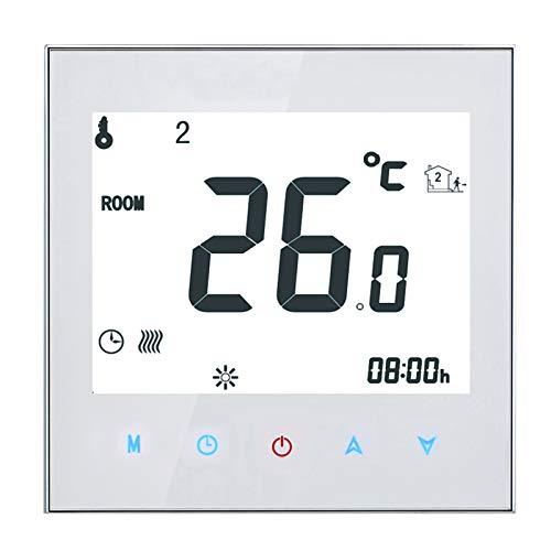 Pilvnar Termostato Inteligente, 16A 95-240V Pantalla LCD...
