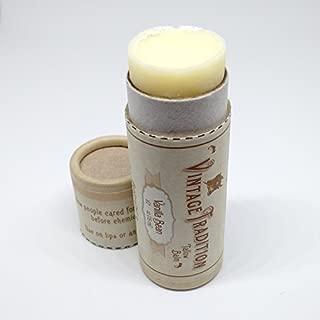 Vintage Tradition Vanilla Bean Tube Tallow Balm, 100% Grass-Fed, 1/2 Fl Oz
