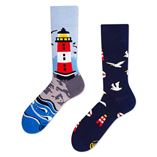 Many Mornings unisex Socken Nordic Lighthouse (43-46)