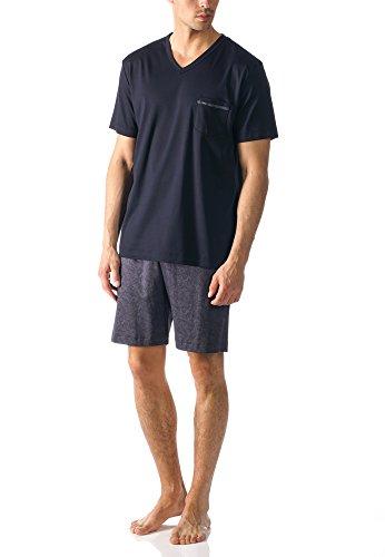 Mey Herren-Shorty Interlock-Jersey dunkelblau Größe 50