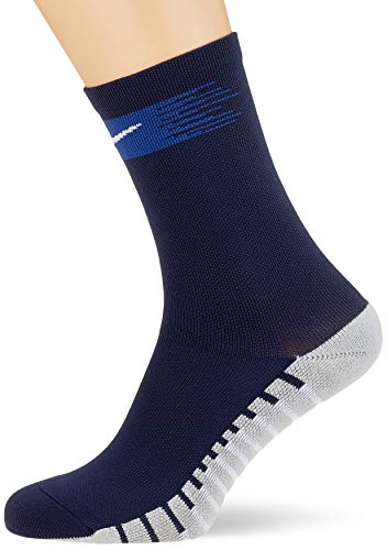 NIKE Crew Sock Calcetin, Unisex Adulto, Obsidian/Deep Royal/White, L