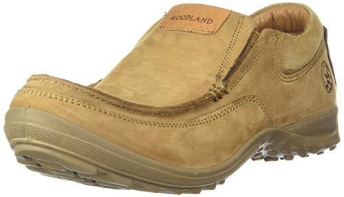 Woodland Men's Camel Leather Moccasin-8 UK (42 EU) (9 US) (GC 2941118)