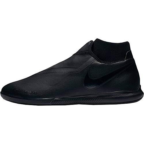 Nike Unisex H Vison Academy Dynamic IC Fußballschuhe, Schwarz (Black/Black 1), 44 EU