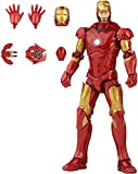 Marvel Hasbro Legends Series 6-inch Scale Action Figure Toy Iron Man Mark 3 Infinity Saga Character, Premium Design, Figure and 5 Accessories