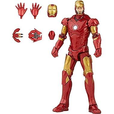 Marvel Hasbro Legends Series 6-inch Scale Action Figure Toy Iron Man Mark 3 Infinity Saga Character, Premium Design…