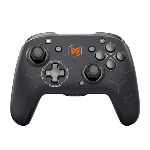 BIGBIGWON Wireless Controller for Switch , Wireless Pro Controller for Switch with Dual Shock, Turbo/Motion Control Compatible with Switch /Switch Lite