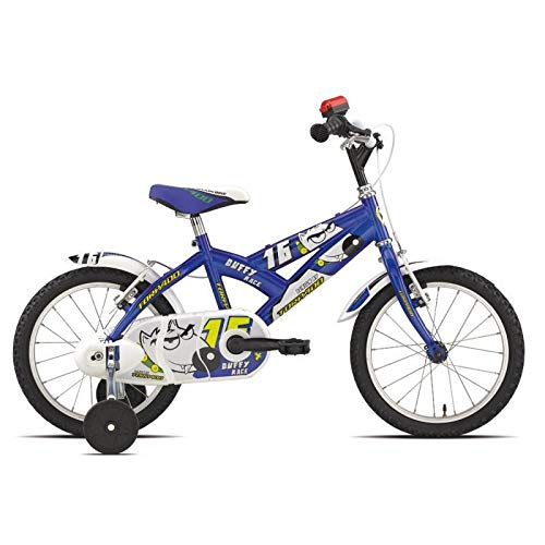 TORPADO Bici Junior Duffy 16'' Bimbo 1v Blu/Verde (Bambino)