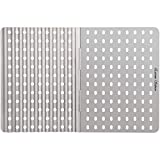 Extreme Salmon Stainless Steel Dual Sided Reusable Barbecue Sheet Replacement Grill Grate ...