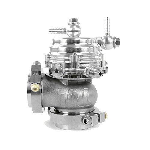 TiAL MV-R 44mm Wastegate Silver With V-Band and Flanges All Springs