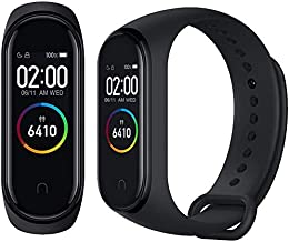 Xiaomi Band 4 Fitness Tracker 0,95 inch Kleur AMOLED Monitor Hartslagfrequentie 50 m Activity Tracker Waterdicht Smart Arm...