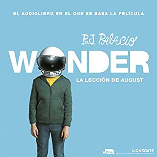 La lección de August: Wonder [August's Lesson: Wonder] cover art