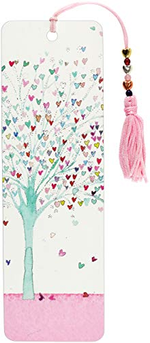 Tree of Hearts Beaded Bookmark