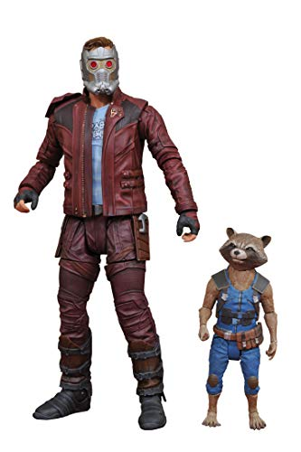"Marvel 2 Actionfiguren aus ""Guardians of The Galaxy"": Star-Lord und Rocket, Comics, JAN172663"