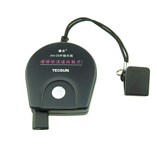 Tecsun Externe Antenne Radios zur Verbesserung des UKW/KW Empfangs (AN05)
