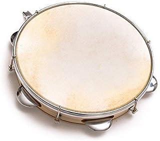 """Capoeira Leather Pandeiro Drum Tambourine Samba Brasil Wood Music Instrument 8"""""""