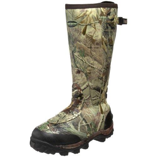 Irish Setter Men's RutMasterWaterproof 1200 Gram 17' Rubber Boot,Realtree AP Camouflage,9.5 E US