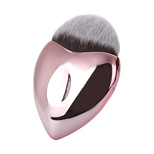 Mode coeur forme Conception Poignée Forme Make Up Brosses pour Fondation Sourcils Eyeliner Blush Cosmétique Concealer pinceau cosmétique Maquillage Brush Sets Outils
