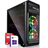Multimedia Gaming PC AMD A8-9600 4x3.1GHz |MSI Board|8GB DDR4|256GB M.2 SSD 1000GB HDD|Radeon R7 Series HDMI|DVD-RW|USB 3.0|SATA3|Sound|Windows 10 Pro|Made in Germany|3 Jahre Garantie