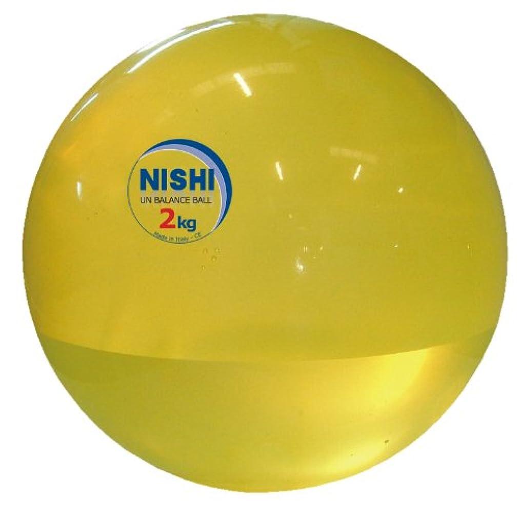 廃止する豚肉アーサーNISHI(ニシ?スポーツ) アンバランスメディシンボール