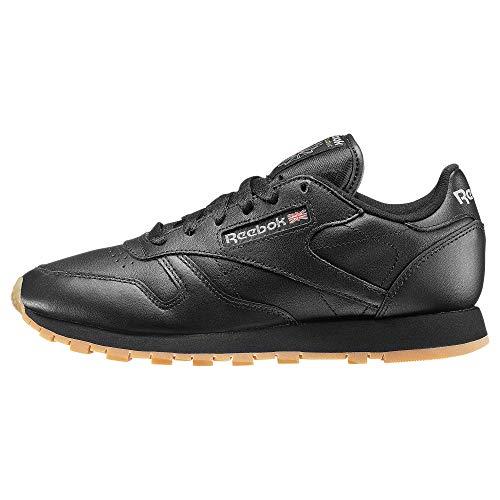 Reebok Schuhe Classic Leather Black-Gum (49804) 39 Schwarz