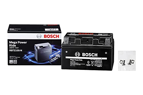 BOSCH (ボッシュ)メガ・パワー・ライド 二輪車用バッテリー RBTZ10S-N