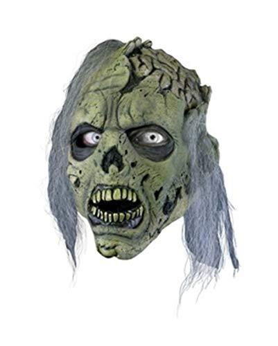 Horror-Shop Zombie Gehirn Maske als Untoten Verkleidung für Halloween & Zombie Walk