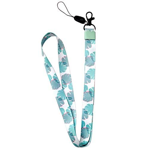 uu19ee Correa del teléfono móvil Flor Lanyard Correa para el Cuello para Llaves ID Card S For USB Badge Holder DIY Cuerda para Colgar