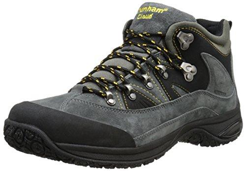 Dunham Men's Cloud Mid-Cut Waterproof Boot, Slate Black - 13 4E US