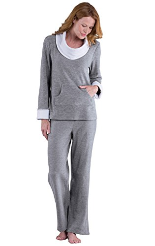 PajamaGram Super Soft Pajamas for Women - Fleece Pajamas Women