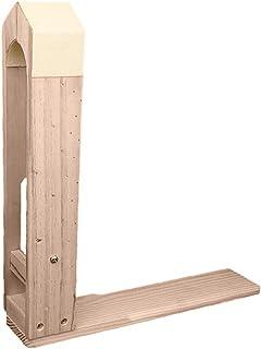 chengbaohuqu Colle Cuir Brochage Artisanat Cheval Bois Main Poney Clamp Table Croisement Desktop Pour Coudre Diy