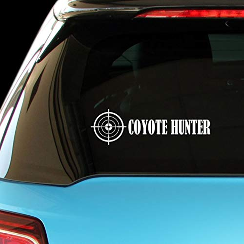 PressFans - Coyote Hunter Hunters Hunting Car Laptop Wall Sticker