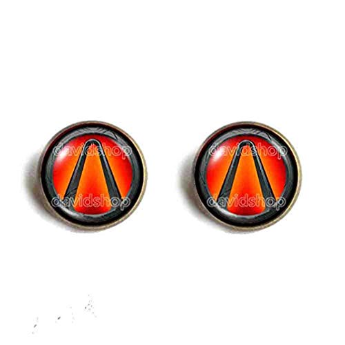 Handmade Fashion Jewelry Cute Symbol Borderlands Vault Earring Cosplay